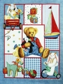 Daisy Kingdom Picture Album Wall/Quilt Panel