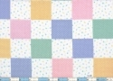 Alphabet Pastel Blocks Cotton