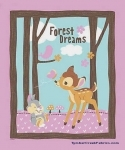 Disney Bambi Woodland Dreams Fabric Panel