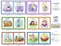 Calendar Babies So Cute Fabric Soft Book New