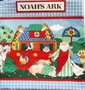 Noah's Ark Bible Fabric Soft Book