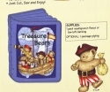 Treasure Bears Soft Fabric Book <font color=&quot;red&quot;> SALE