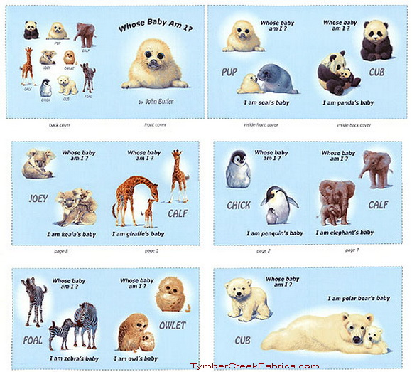 Animal Friends Who's Baby Am I Soft Book