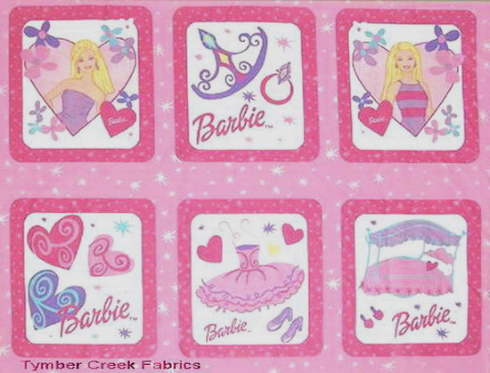 "Barbie Fashion 8""x 9"" Blocks"