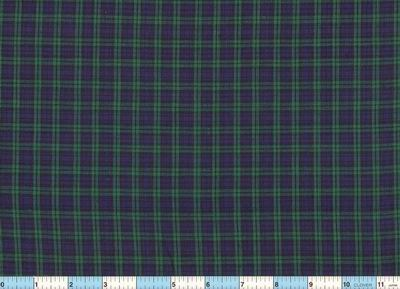 Black Watch Plaid Homespun