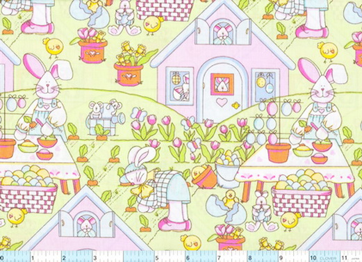 Welcome to Bunny Town Fabric