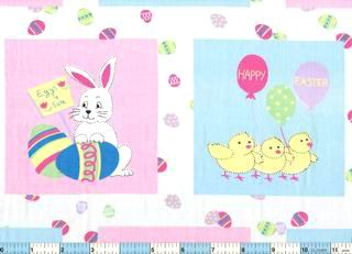 Picket Fence Bunny Chicks 2yds 17""