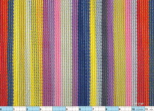 Mesh Colorful Stripe