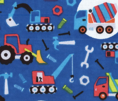 Fleece fabric baby fleece prints panels cotton flannel for Little blue truck fabric