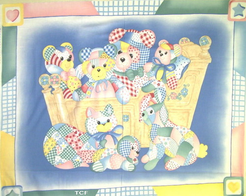 Cradle Babies Wall/Quilt Panel <font color=red>SALE
