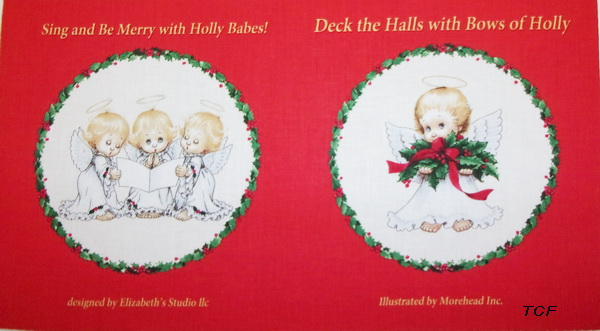 Deck the Halls Soft Book Fabric