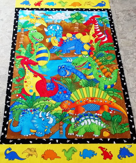 DINO Babies Pals Wall Flannel Panel