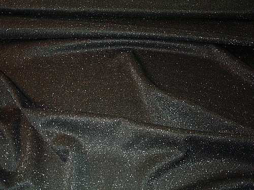 Glitter Dark Gray Light Knit Fabric