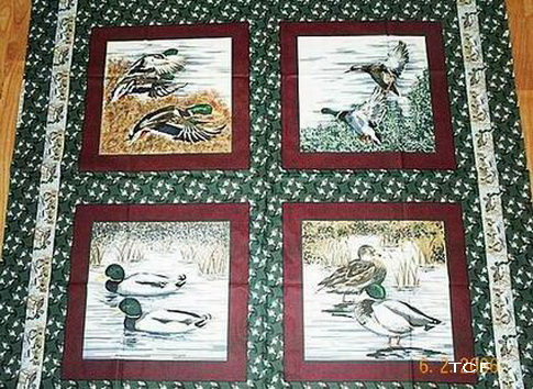 Mallard Ducks 4 Panels
