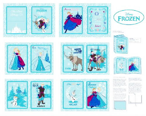 Disney Frozen Annas Friends Book Panel