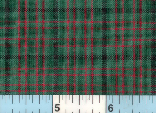 Holiday Green & Red Homespun Plaid