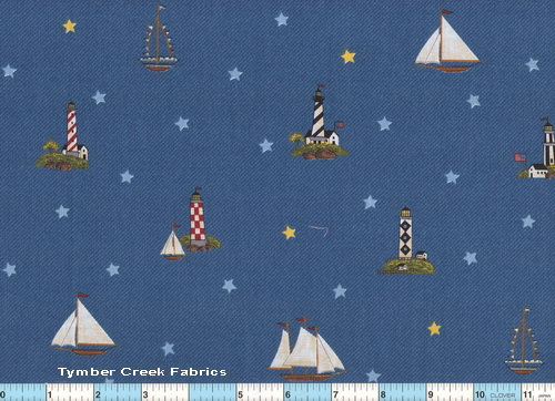 Lighthouse Coastal Collection 1yd5""