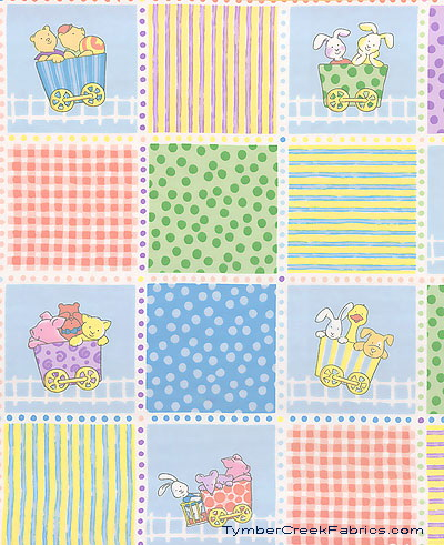 Little Train Patches Nursery Print