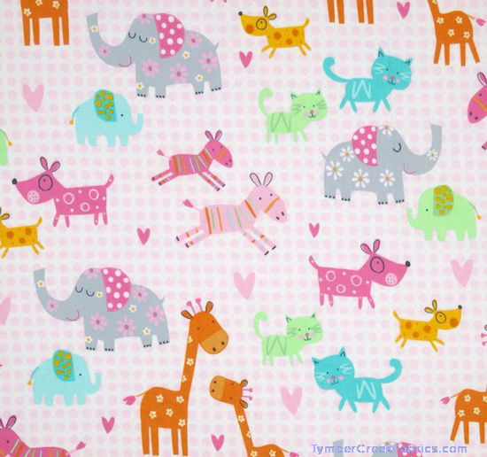 Mommy & Me Elephant Dog Cat Flannel