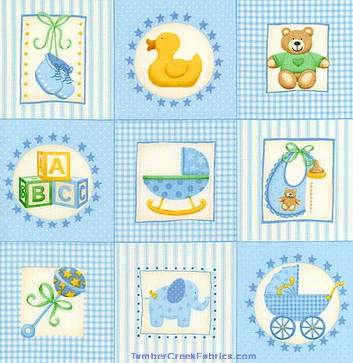 Fleece fabric baby fleece prints panels cotton flannel for Baby nursery fabric