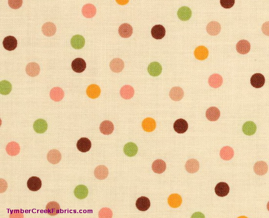 Seek 'N Match - Spunky Spots - Vanilla Fabric