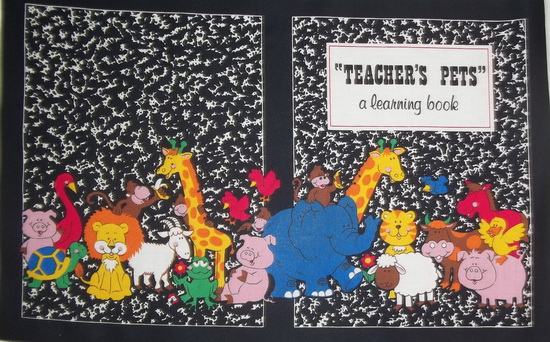 Teachers Pet Learning Fabric Book