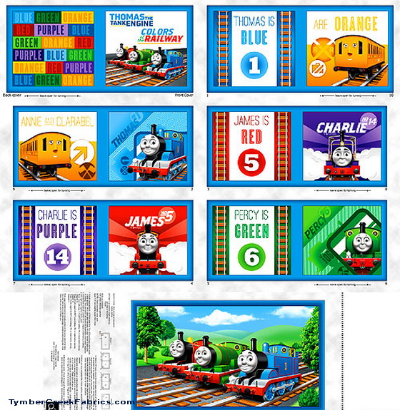 Thomas The Train New Fabric Book