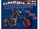 American Chopper Black Widow Wall Panel