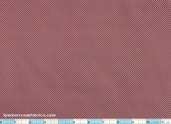 Wine Mini Checks 2yds3""